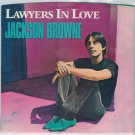 Jackson Browne - Lawyers In Love 45 RPM Record + PICTURE SLEEVE