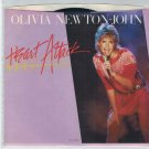 Olivia Newton-John - Heart Attack 45 RPM RECORD + PICTURE SLEEVE