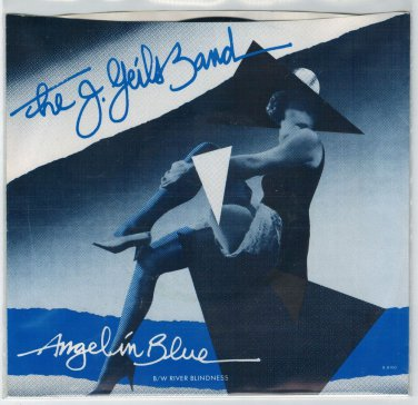 J. Geils Band - Angel In Blue 45 RPM Record + PICTURE SLEEVE
