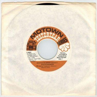 Stevie Wonder - Master Blaster (Jammin') 45 RPM RECORD