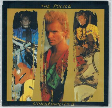 Police - Synchronicity II 45 RPM Record + PICTURE SLEEVE