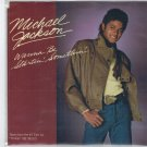 Michael Jackson - Wanna Be Startin' Somethin' 45 RPM Record + PICTURE SLEEVE