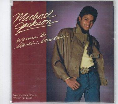 Michael Jackson - Wanna Be Startin' Somethin' 45 RPM Record + PICTURE SLEEVE