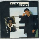 Paul McCartney & Stevie Wonder - Ebony And Ivory 45 RPM Record + PICTURE SLEEVE