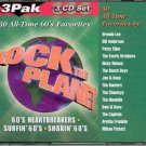 Rock The Planet Vol 1 - 3 NEW SEALED 9 CD SET Timeless Music 100 Tracks