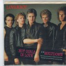 Loverboy - Hot Girls In Love 45 RPM Record + PICTURE SLEEVE Canadian Artist