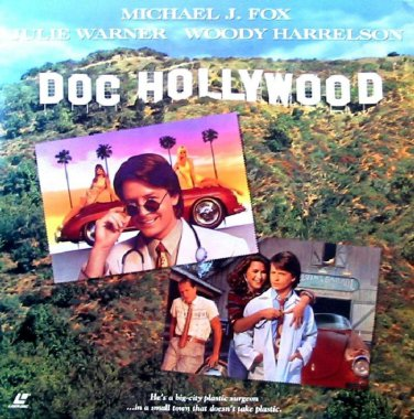 Doc Hollywood LASERDISC WIDESCREEN Michael J. Fox