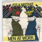 Men At Work - It's A Mistake 45 RPM Record + PICTURE SLEEVE