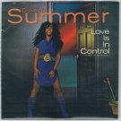 Donna Summer - Love Is In Control 45 RPM Record + PICTURE SLEEVE
