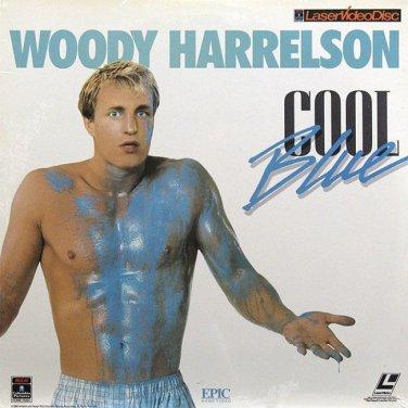 Cool Blue LASERDISC Woody Harrelson
