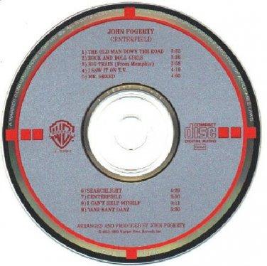 TARGET JAPAN Centerfield by John Fogerty CD 1985 Warner Bros.