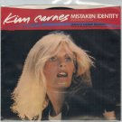 Kim Carnes - Mistaken Identity 45 RPM Record + PICTURE SLEEVE