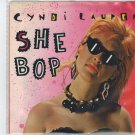 Cyndi Lauper - She Bop 45 RPM Record + PICTURE SLEEVE