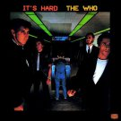 The Who - It's Hard LP Vinyl Record MCA