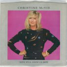 Christine McVie - Love Will Show Us How 45 RPM Record + PICTURE SLEEVE