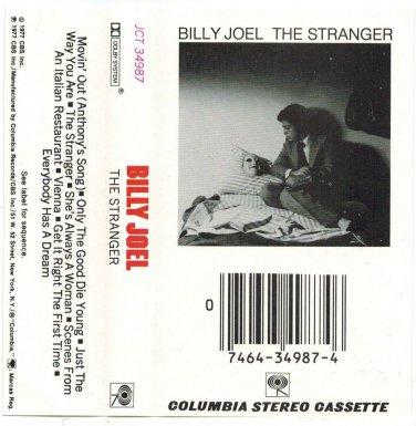 Billy Joel The Stranger AUDIO CASSETTE Columbia