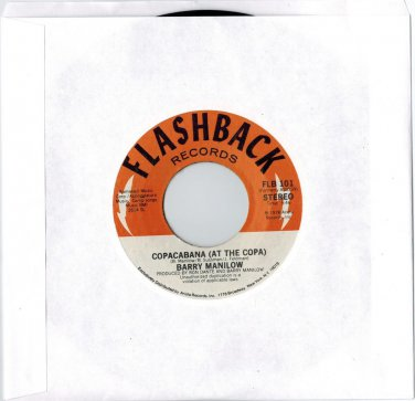 Barry Manilow - Copacabana / Even Now (2 HITS ON 1) 45 RPM RECORD