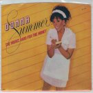 Donna Summer - She Works Hard For The Money 45 RPM Record + PICTURE SLEEVE