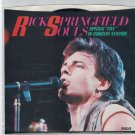 Rick Springfield - Souls 45 RPM Record + PICTURE SLEEVE