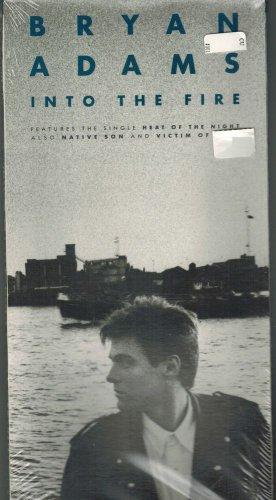 Bryan Adams Into The Fire CD & LONGBOX 1987 A&M 075021390720