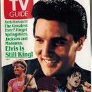TV Guide Elvis Presley 1989 January 21 - 27 NO LABEL SAN FRANCISCO EDITION