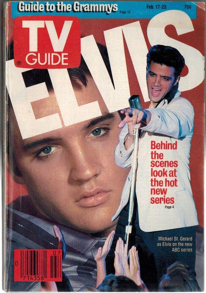 TV Guide Elvis Presley 1990 February 17 - 23 NO LABEL SAN FRANCISCO EDITION