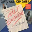 "Hall & Oates - Adult Education 12"" Single LP Vinyl Record Remix"