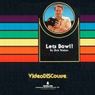 Let's Bowl with Dick Weber LASERDISC NTSC