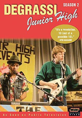 Degrassi Junior High - Complete Second Season DVD NEW SEALED 3-Disc Set Season 2