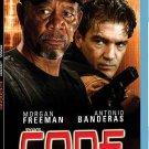 Code Blu Ray NEW SEALED Antonio Banderas, Morgan Freeman
