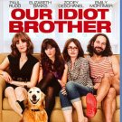 Our Idiot Brother Blu-ray NEW SEALED Paul Rudd Zooey Deschanel 2011