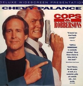 Cops & Robbersons LASERDISC Chevy Chase Jack Palance NTSC
