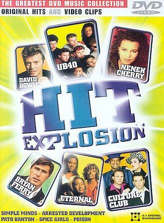 Hit Explosion DVD 2002 Music Videos Original Hits & Video Clips Original Artists
