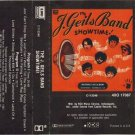 J. Geils Band - Showtime AUDIO CASSETTE 1982 EMI