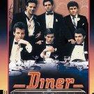 Diner DVD Mickey Rourke Kevin Bacon Paul Reiser Timothy Daly Daniel Stern