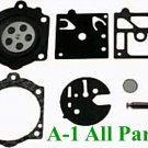 Carburetor Carb Kit Walbro K10-HDB Gaskets Diaphragms Hard Parts --- MADE IN USA