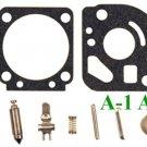 Carburetor Carb Kit ZAMA RB-71 C1U K54 K81 K82  GASKETS DISPHRAMS -- MADE IN USA