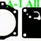 Carburetor Carb Kit Walbro D11-WJ  D2-WJ Gaskets Diaphragms -- MADE IN USA