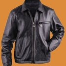 Straight Bottom Leather jacket