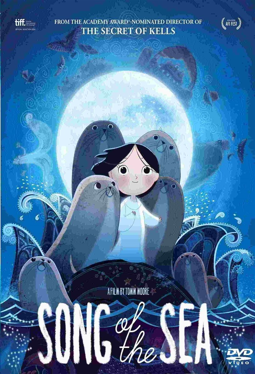 Song of The Sea Movie DVD Academy Award Nominee Anime