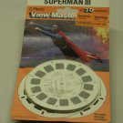 SUPERMAN III GAF VIEWMASTER CARDS UNOPENED