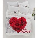 100% Cotton 3D Double Bedding Duvet Cover Set