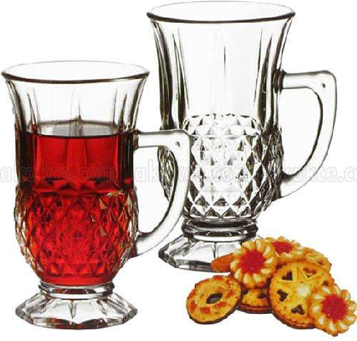 Turkish Tea Coffee Serving Set 6 -Tea Glasses Cups-cup of tea