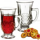 Turkish Tea Coffee Serving Set 6 -Tea Glasses Cups-cup of tea