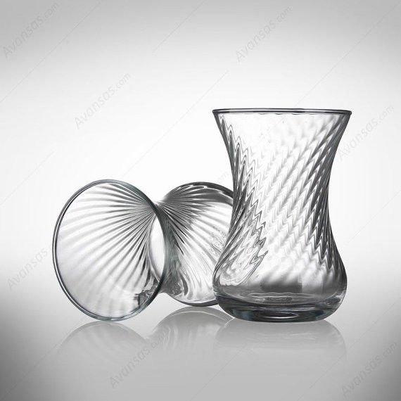 Turkish Tea Serving Set 6 -Tea Glasses Cups-cup of tea