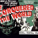 It Conquered The World (1956) 1950-1960 Classic Sci-Fi B Movies - DVD - BUY 2 DVD's GET 1 FREE!!!