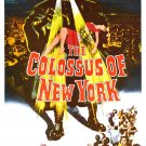 The Colossus of New York (1958) 1950-1960 Classic Horror B Movies - DVD - BUY 2 DVD's GET 1 FREE!!!