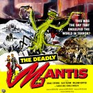 The Deadly Mantis (1957) 1950-1960 Classic Horror B Movies - DVD - BUY 2 DVD's GET 1 FREE!!!