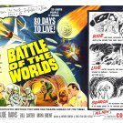 Battle of the Worlds (1961) 1950-1965 Classic Sci-Fi B Movies - DVD - BUY 2 DVD's GET 1 FREE!!!