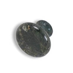 large mushroom knobs-Verde Butterfly